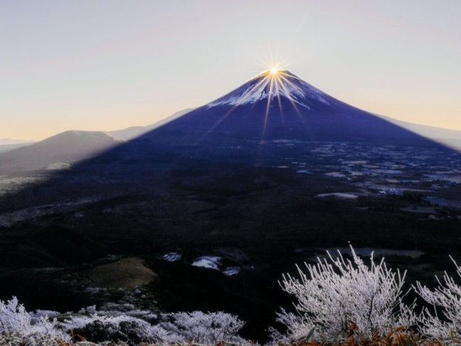 Diamond Fuji sunrise